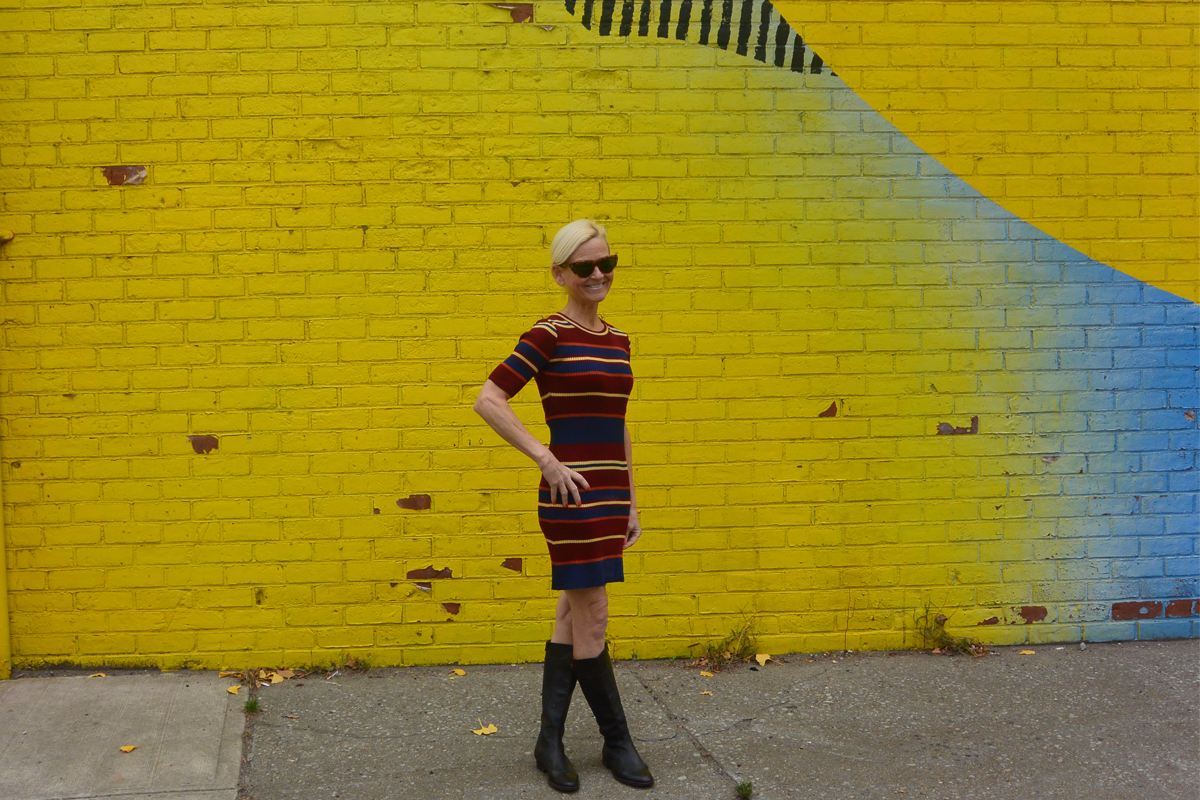 Viva Violeta Photography and The Greene Door_Yellow_Wall_Dumbo