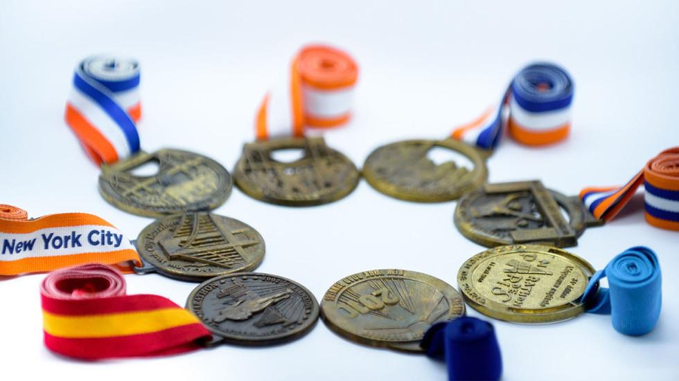 The Greene Door Marathon Medals