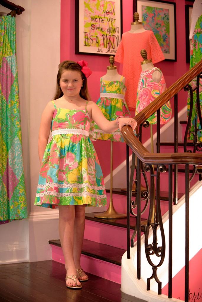 The Greene Door At Lilly Pulitzer