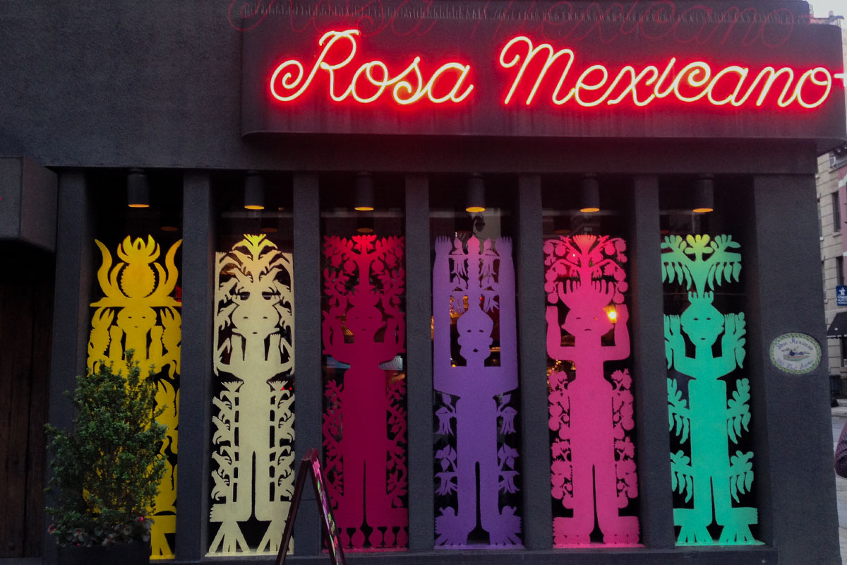 Rosa Mexicano at The Greene Door