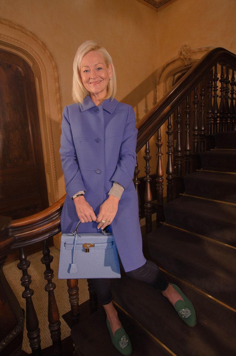 Cathy Greene Blue Coat