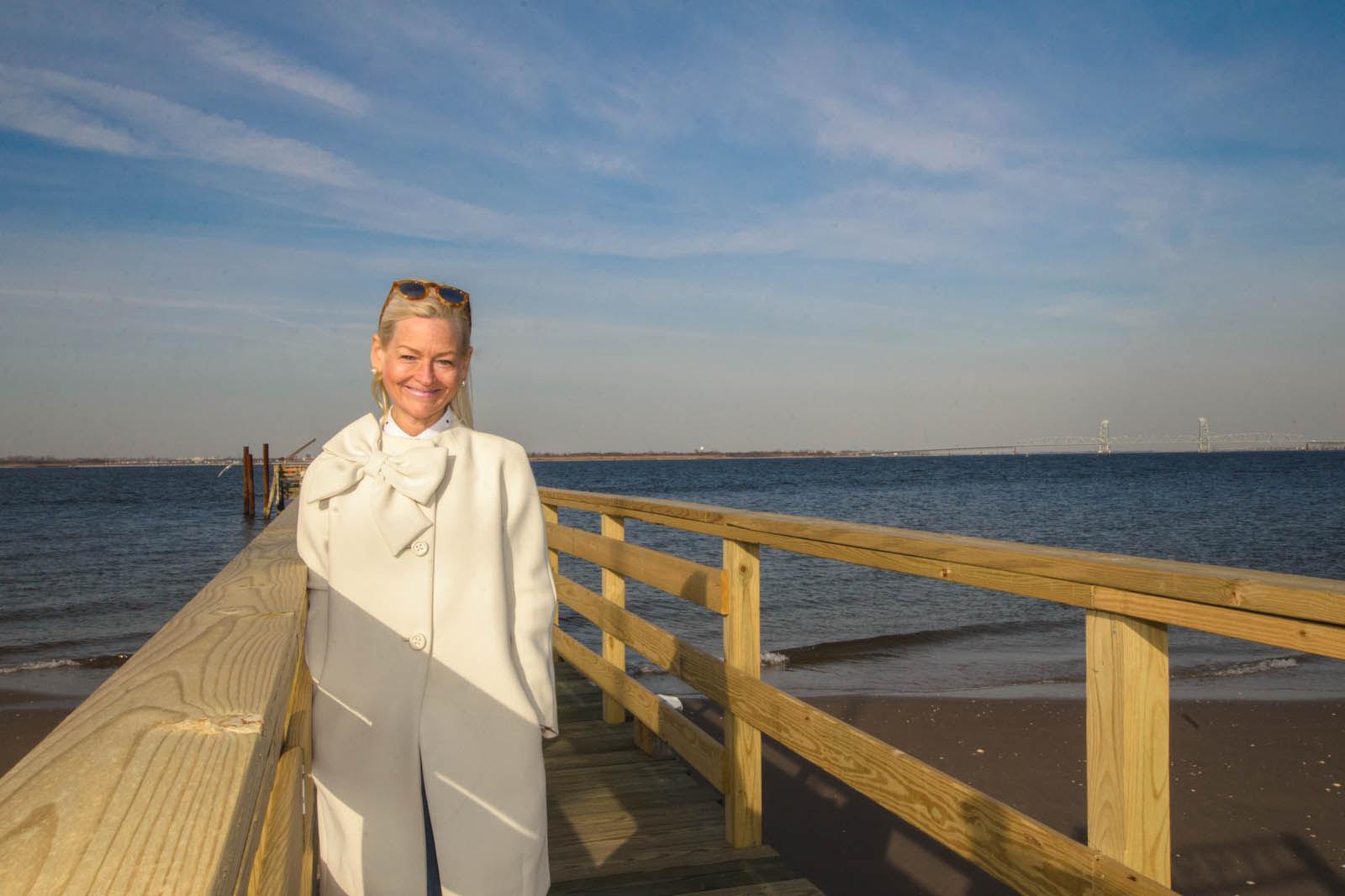 Cathy Greene White Coat