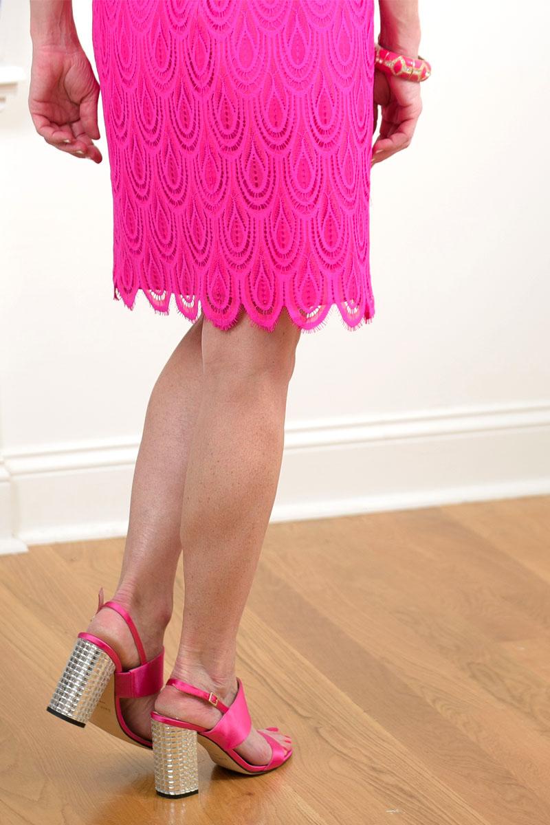 The Greene Door Pink Dress