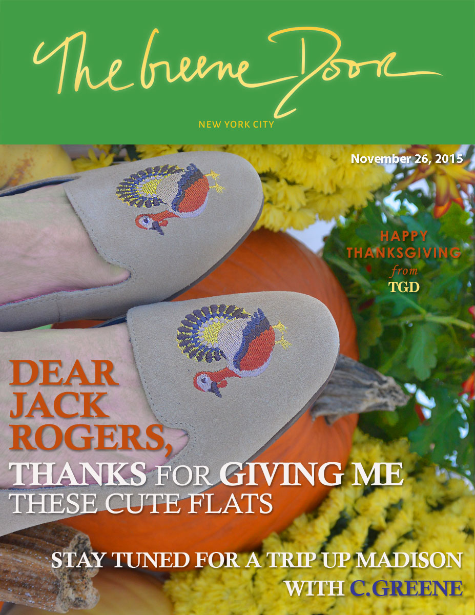 The Greene Door Magazine Cover