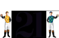 21 club logo